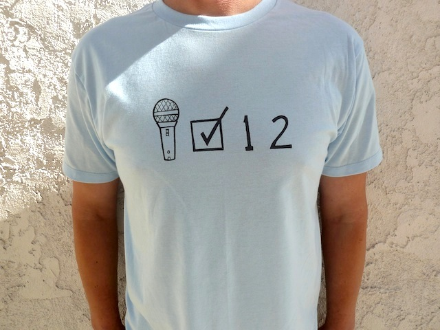 Mic Check One Two T-shirt http://halfbroshop.tictail.com/